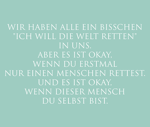 Resilienz ist ...
